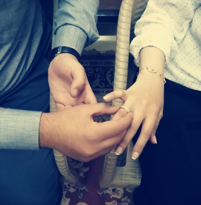 مبروك للعروسين.. الريادة نيوز تهنئ الزميل محمد عيد والأستاذة مي عماد بالخطبة السعيدة