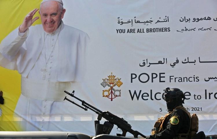 تفاصيل زبارة بابا الفاتيكان فرنسيس الى العراق