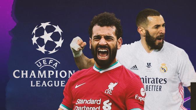 بث مباشر.. قمة ريال مدريد وليفربول في دوري الابطال