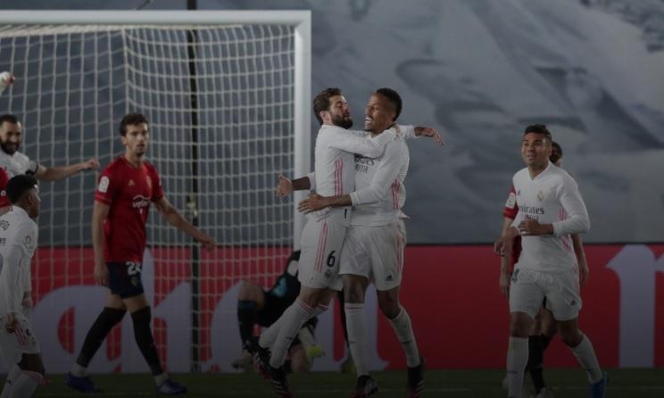 فيديو.. هدفي فوز ريال مدريد على اوساسونا في الليجا